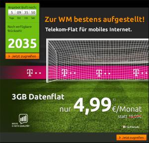 Datenflat im Telekom-Netz