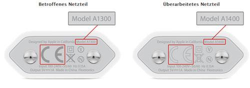 Überhitzung – Apple ruft iPhone Netzteile zurück
