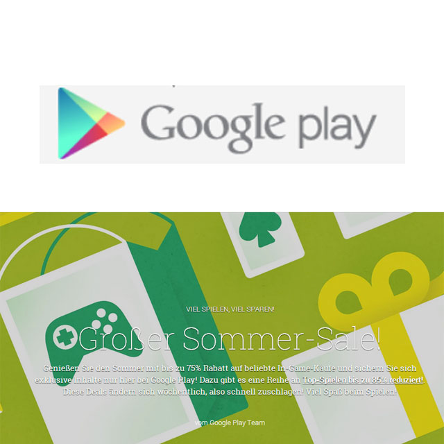 Google Play Summer Sale