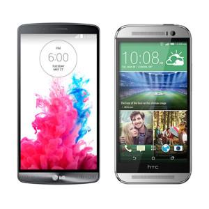 LG G3 HTC One M8