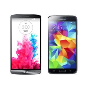 LG G3 und Samsung Galaxy S5