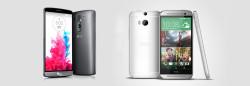 LG G3 und HTC One M8