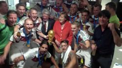 DFB-Team nach dem WM-Finale #GERARG