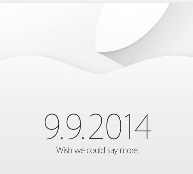 Apple: Vorstellung des iPhone 6 am 9. September