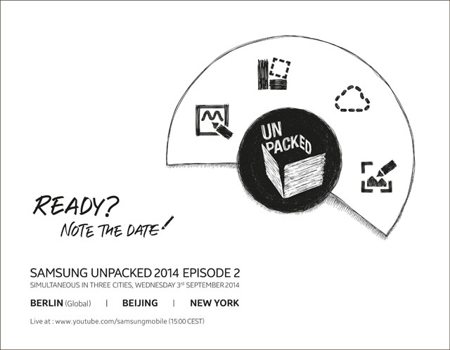 Samsung Galaxy Note 4: Unpacked Event am 3. September