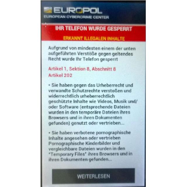 LKA Bayern warnt vor Android-Trojaner