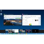 Nutzer können unter Windows 10 mehrere Desktops anlegen. (Bild Microsoft)