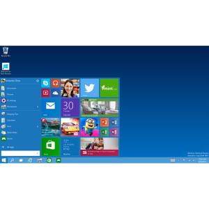 Das Startmenü kehrt in Windows 10 zurück. (Bild: Microsoft)