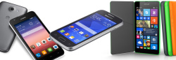 Smartphones unter 200,- Euro