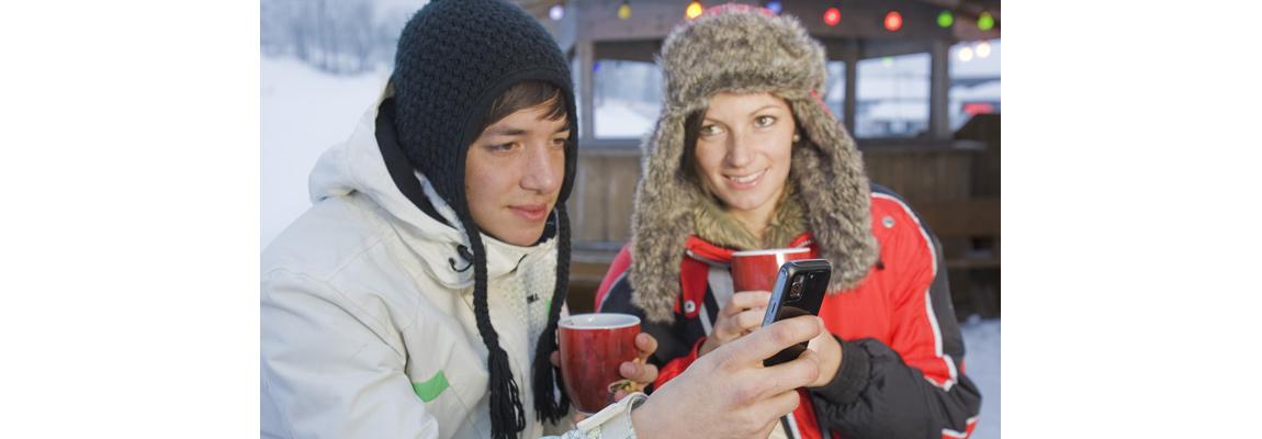 Smartphone gegen Kälte schützen