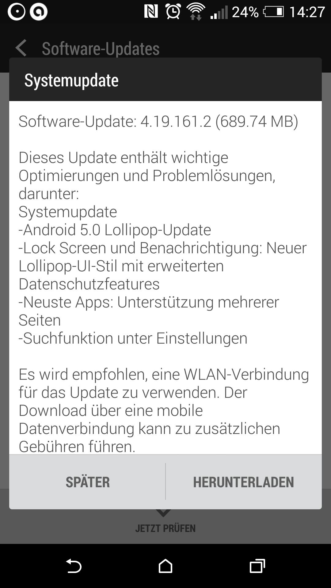 Android 5.0 steht zum Download bereit