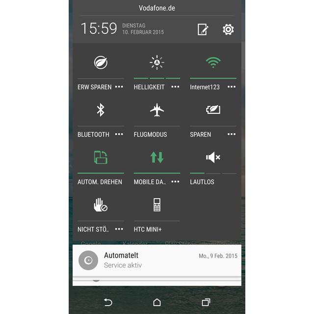 Android 5.0 Lautlos
